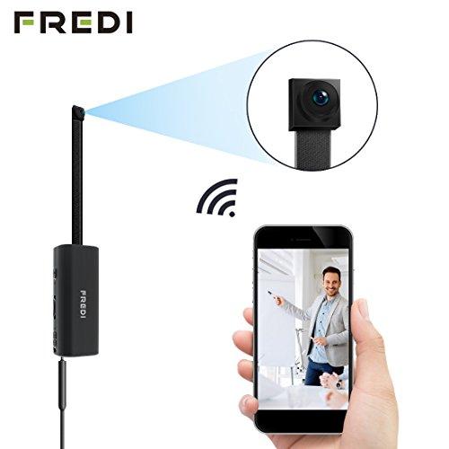 FREDI IP Cámara Espía/Oculta Spy Mini WiFi Cámara