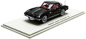 Spark - S2968 - Véhicule Miniature - Modèle À L'échelle - Chevrolet Corvette C2 Sting Ray Coupé - 1964 - Echelle 1/43