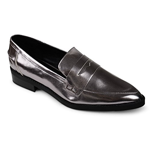 ladies-shoes-marks-spencer-collection-silver-flat-court-shoes
