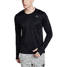 Adidas Rs Ls Tee M, Maglietta Manica Lunga Uomo, Nero/Negro, L