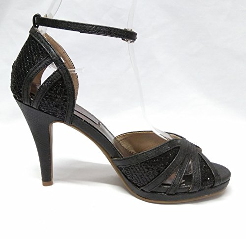 XTI 030577, Sandali donna nero 34 Nero