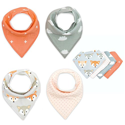 cisixin-bavaglino-neonato-bandana-drool-confezione-da-4-disegni-bandana-bavaglini-con-bottoni-regola