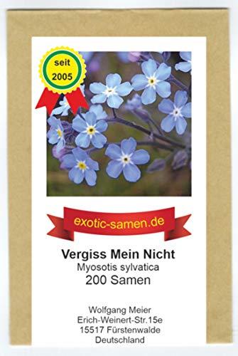 Vergiss Mein Nicht - Myosotis sylvatica - 200 Samen