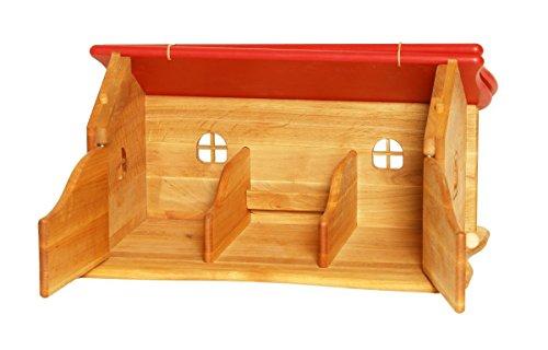 Preisvergleich Produktbild 935 4028 Drewart Bauernhaus, Farm, Haus aus Holz, Puppenhaus Holzhaus Stall