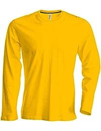 comprare in vendita sito web professionale ottimi prezzi Amazon.it: Giallo - Maglie a manica lunga / T-shirt, polo e ...