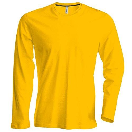 Kostüm Männer Minions - Herren T-Shirt langarm von notrash2003 (XL, Gelb)