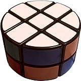 DSstyles 2x3x3 Cubo de Velocidad de Columna Redonda, Forma de Pastel, Color Negro