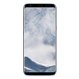 Samsung Galaxy S8 Smartphone, Arctic Silver, Display 5.8″, 64 GB Espandibili [Versione Italiana] + Micro SD 64 GB Samsung EVO Plus