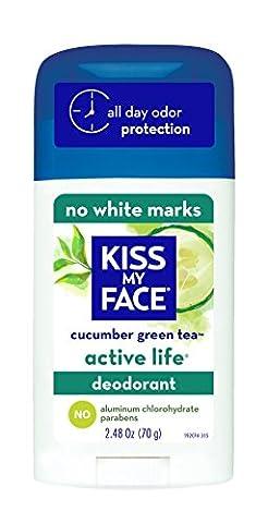 Kiss My Face Déodorant Active Life, 70,3gram (lot de 6)