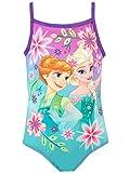 Disney Mädchen Frozen - Die Eiskönigin Badeanzug Violett 98