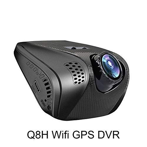 NPNPNP Aufnahmegerät Fahren Mini Q8h WiFi Car Dvr 140 Degree Wireless Car Dash Cam 1440p Full Hd Night Version G-Sensor Car Driving Video Recorder