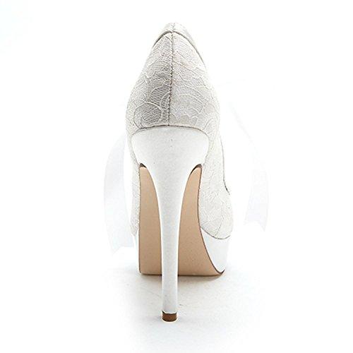 buy popular 6491e a15c7 Les Chaussures De Mariage Féminines Descendent La Plate-forme En Soie Fine  Avec La Plate ...