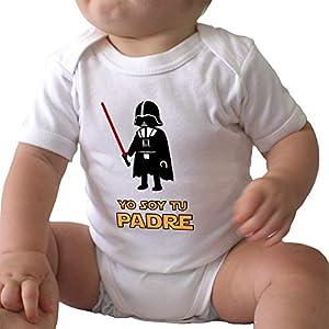 GAMBA TARONJA YO Soy TU Padre - Body - BEBÉ - Star Wars - Darth Vader 4
