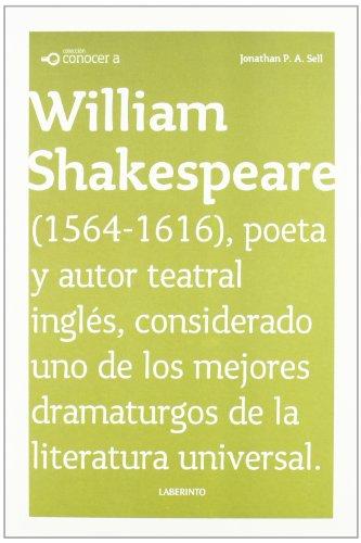 Conocer a: William Shakespeare
