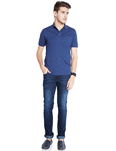 Parx Men's Dark Blue T-shirt
