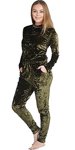 Home ware outlet - Survêtement - Manches Longues - Femme noir * taille unique Kaki