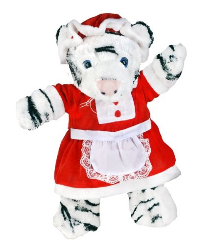 Mrs. Claus Outfit Teddybär Outfit (40,6 cm)