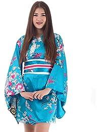 Princess of Asia Kimono Damen Negligee Kleid Cosplay Lolita Minikleid Kakitsubato