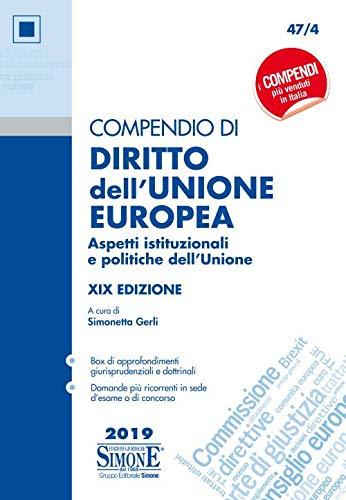 Compendio di diritto dell'Unione Europea.