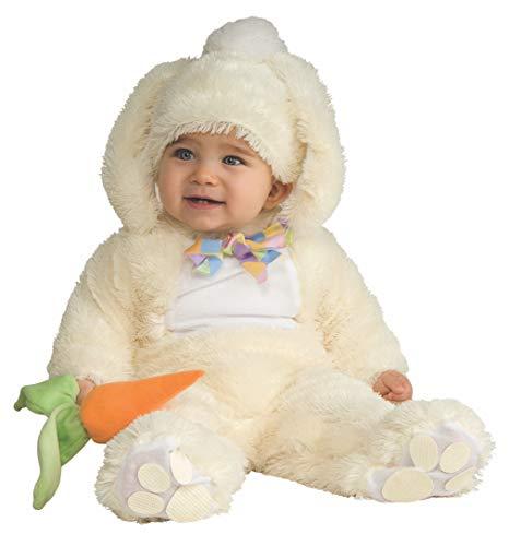 Rubies - Disfraz de Conejo para niños, talla bebé 1-2 años (Rubie's 885733-T)