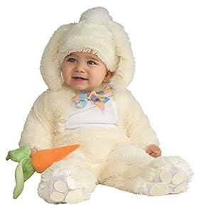 Rubies - Disfraz de Conejo para niños, talla bebé 1-2 años (Rubie