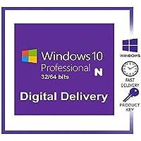 Windows 10 Professional N (téléchargement de logiciel électronique) - licence uniquement