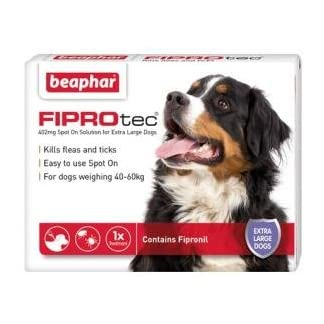 fiprotec spot on solution for extra large dogs (1 treatment) Fiprotec Spot On Solution for Extra Large Dogs (1 Treatment) 41yMlz 2BFQCL