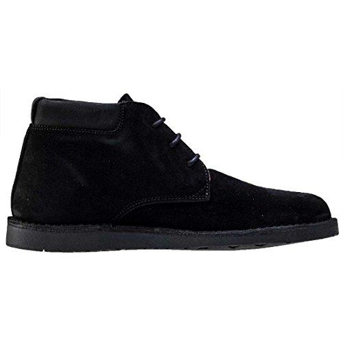 Hush Puppies , Chaussures de ville à lacets pour homme Noir noir Black