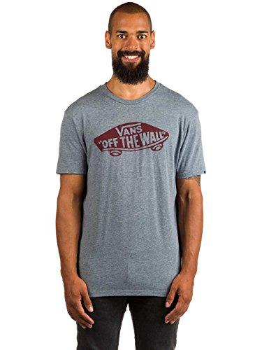 Vans Herren Shirt M OTW heather grey/port royale