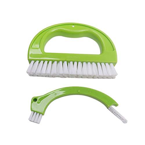 Vaugan Fugenbürste, multifunktional, Fliesenmörtel, Reinigungswerkzeug für Badezimmer, Küche, Dusche, Waschbecken, Badewannen