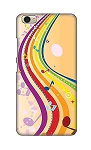 ZAPCASE Printed Back Cover for VIVO Y55