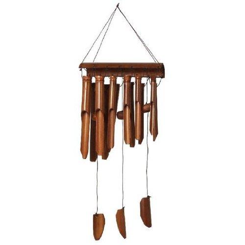Carillon éolien en bambou