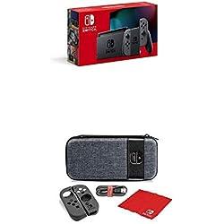 Nintendo Switch avec paire de Joy-Con Grise + Kit de démarrage - Elite Edition