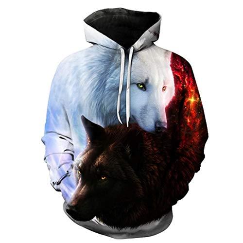 Felpe con cappuccio da uomo felpe con cappuccio 3d felpe boy giacche pullover di qualità tute animal streetwear out coat weiyi-100 6xl