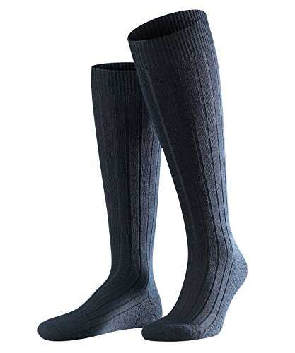 Falke - teppich im schuch, calzettoni da uomo, blu (dark navy 6370), taglia produttore: 41/42