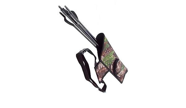 XuBa Portable Quiver Taille Pendu fl/èche tir /à larc Sac de Transport ext/érieur Accessoires de tir /à larc