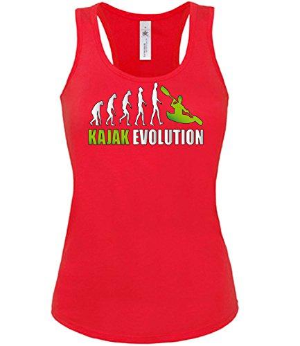 KAJAK EVOLUTION 619(TT-F-R-Weiss-Grün) Gr. XL