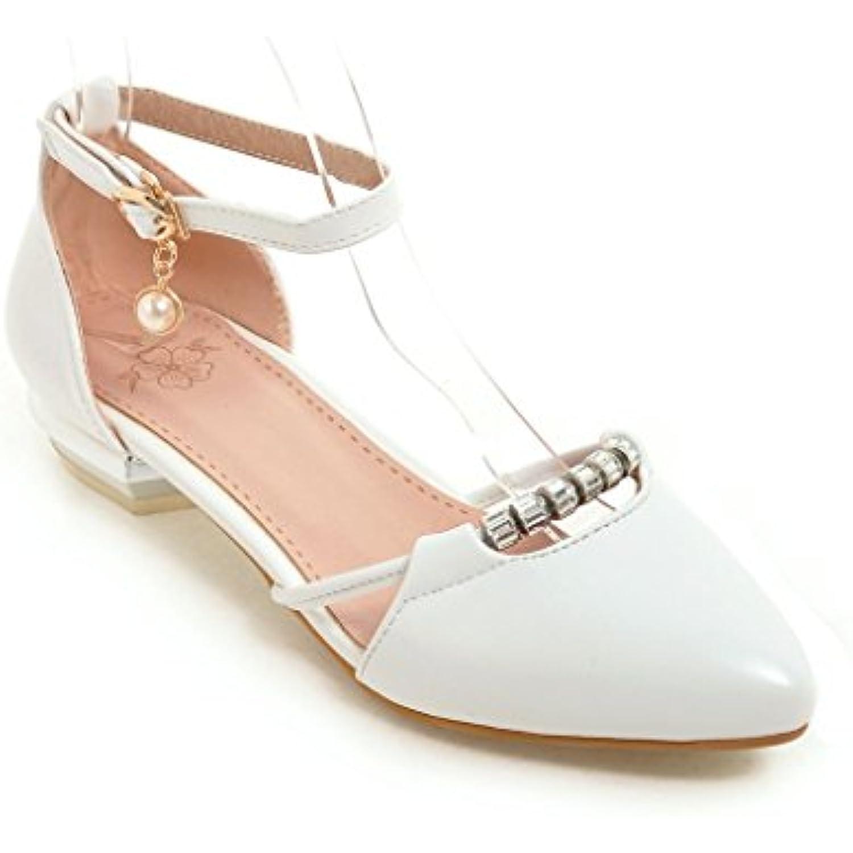 QIN&X Femmes Chaussures Femmes QIN&X Talon Bas Lanière Cheville  s - B07CSQ5T8Z - 3a663f