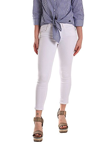 Fornarina BE171L48D86809 Jeans Frauen White 30