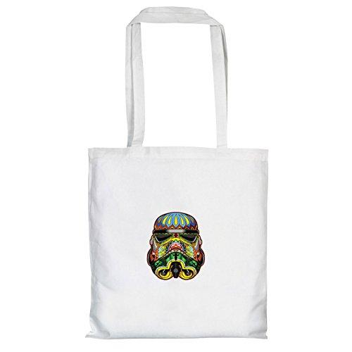 Texlab–Art Trooper–sacchetto di stoffa Bianco