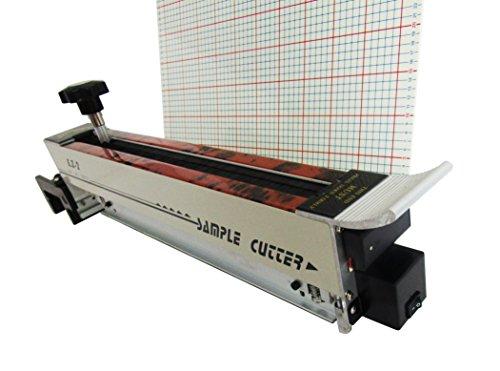 Laser Zig Zag gamuza de Swatch muestra cortador de máquina de corte de tela tejido