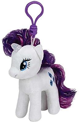 TY Beanie My Little Pony Rarity Plush Key Clip