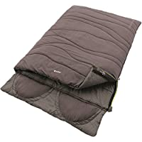 Outwell Contour Lux Double Saco de Dormir, Dark Purple, 225 x 150 cm