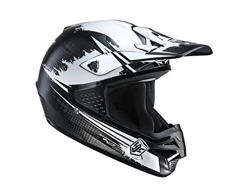 Preisvergleich Produktbild Hjc Cs-Mx Zealot Mc-5sf Motocrosshelm,  Farbe schwarz-weiss,  Größe XXL (63 / 64)