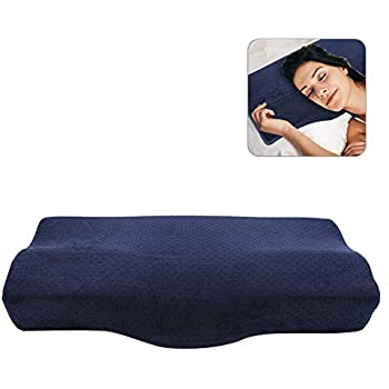 Marnur Memory Foam Pillow Contour Orthopedic Pillows For