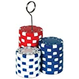 Beistle 50069 Poker Chips Photo Balloon Halter