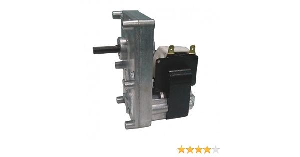 diametro albero Motoriduttore velocit/à 5rpm 8.5mm per stufe e caminetti a pellet