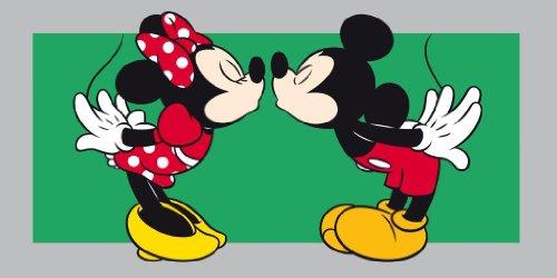 Disney Mickey e Minnie Bacio Telo Mare e Bagno Caleffi
