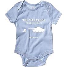 T-Shirtshock - Baby Bodysuit TM0456 maraton for democracy