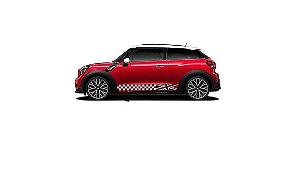 Zhangdan 2 Stücke Union Jack Auto Styling Tür Seite Körper Aufkleber Aufkleber Racing Stripes Zubehör Für Mini Cooper S Jcw One F54 F55 F56 F60 R55 R56 R60 R61 Küche